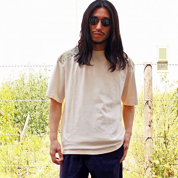Nasngwam. ナスングワム / BANDANA TEE バンダナTシャツ (NATURAL ナチュラル)