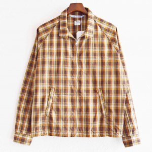 """necessary or unnecessary ネセサリーオアアンネセサリー/ SWING TOP 'MADRAS"""" スイングトップマドラス (BROWN ブラウン)<img class='new_mark_img2' src='https://img.shop-pro.jp/img/new/icons1.gif' style='border:none;display:inline;margin:0px;padding:0px;width:auto;' />"""