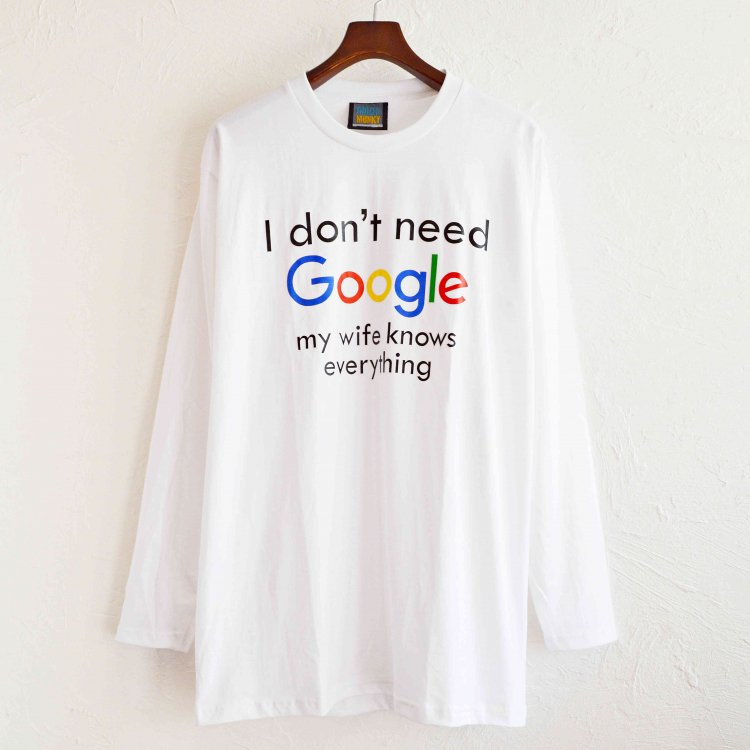 LEATHER TRAMP SELECT / L/S TEE ロンTEE (WHITE ホワイト)