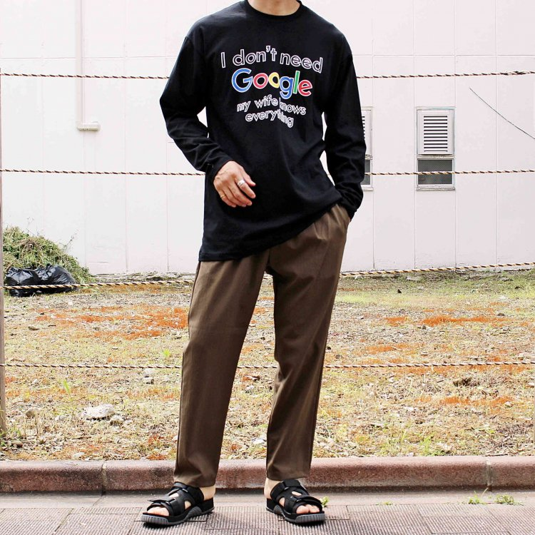 LEATHER TRAMP SELECT / L/S TEE ロンTEE (BLACK ブラック)<img class='new_mark_img2' src='https://img.shop-pro.jp/img/new/icons1.gif' style='border:none;display:inline;margin:0px;padding:0px;width:auto;' />