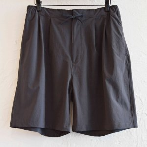 MOUNTAIN EQUIPMENT マウンテンイクイップメント/ RELAXING WIDE SHORTS リラックスワイドショーツ (CHARCOAL GREY チャコールグレー)<img class='new_mark_img2' src='https://img.shop-pro.jp/img/new/icons55.gif' style='border:none;display:inline;margin:0px;padding:0px;width:auto;' />