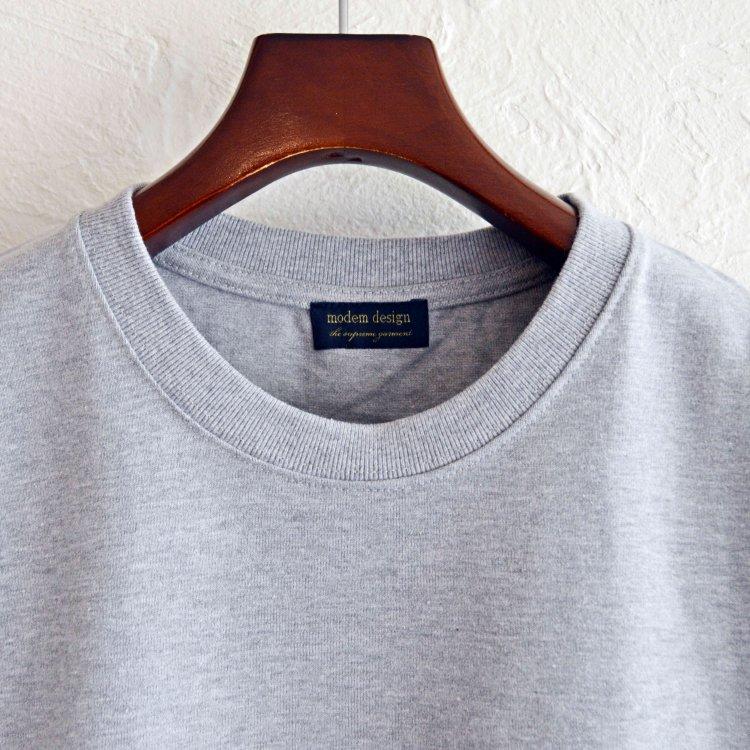 modemdesign モデムデザイン / 10OZ TEE 10オンスTシャツ (GRAY グレー)