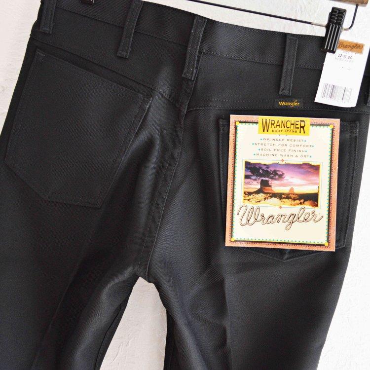 WRANGLER ラングラー/ WRANCHER DRESS JEANS ランチャードレスジーンズ (BLACK ブラック)