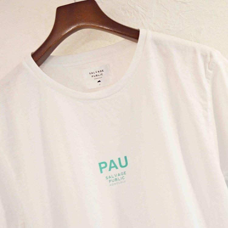 SALVAGE PUBLIC サルベージパブリック / PAU Tシャツ (WHITE ホワイト)<img class='new_mark_img2' src='https://img.shop-pro.jp/img/new/icons1.gif' style='border:none;display:inline;margin:0px;padding:0px;width:auto;' />
