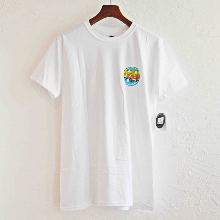 MAUI and Sons マウイ&サンズ / SS Tee Tシャツ (WHITE ホワイト)
