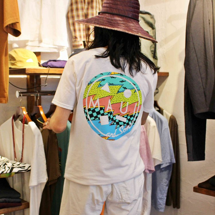 MAUI and Sons マウイ&サンズ / SS Tee Tシャツ (WHITE ホワイト)<img class='new_mark_img2' src='https://img.shop-pro.jp/img/new/icons1.gif' style='border:none;display:inline;margin:0px;padding:0px;width:auto;' />