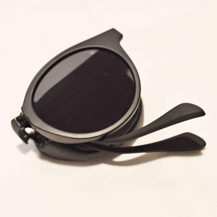 A.Kjaerbede エキアビト / EAZY 2.0 イージー サングラス アイウェア (BLACK ブラック)