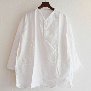 LEATHER TRAMP SELECT / 【DEAD STOCK】RUSSIAN ARMY SLEEPING SHIRTS デットストック ロシア軍スリーピングシャツ (WHITE ホワイト)<img class='new_mark_img2' src='https://img.shop-pro.jp/img/new/icons1.gif' style='border:none;display:inline;margin:0px;padding:0px;width:auto;' />