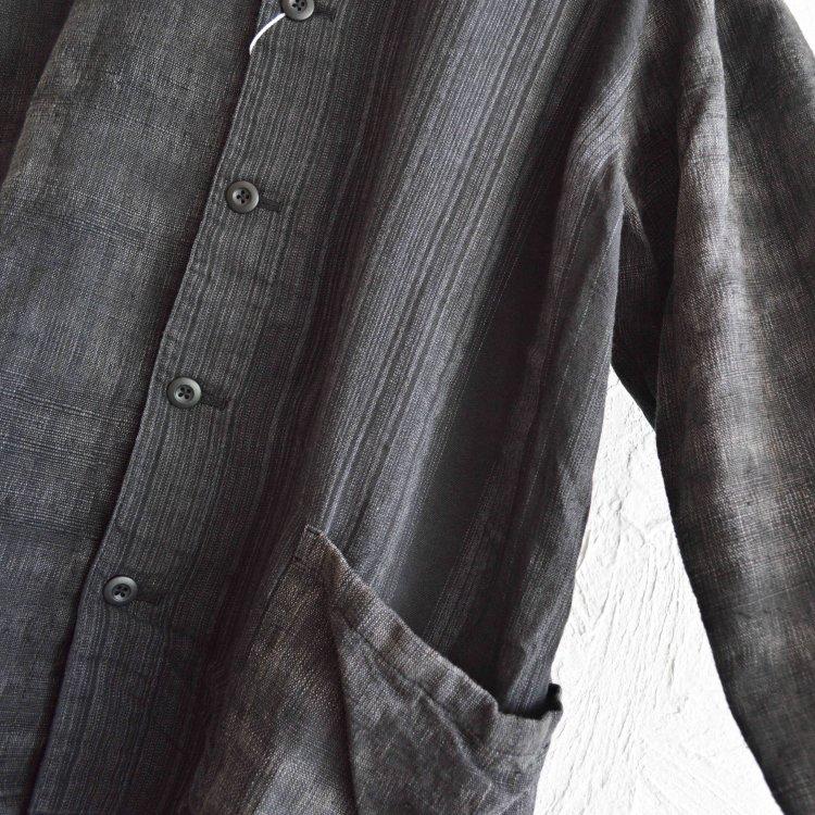 Nasngwam. ナスングワム / FAINT JACKET カバーオール (BLACK ブラック)