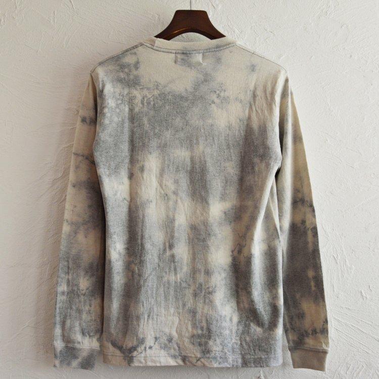 Nasngwam.×JAVARA ナスングワム ジャバラ / EARTH L/S TEE アースロングスリーブTシャツ (雪 ユキ)