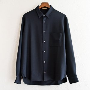 LAMOND ラモンド / STRETCH OX SHIRT ストレッチオックスシャツ (D.NAVY ダークネイビー)<img class='new_mark_img2' src='https://img.shop-pro.jp/img/new/icons1.gif' style='border:none;display:inline;margin:0px;padding:0px;width:auto;' />