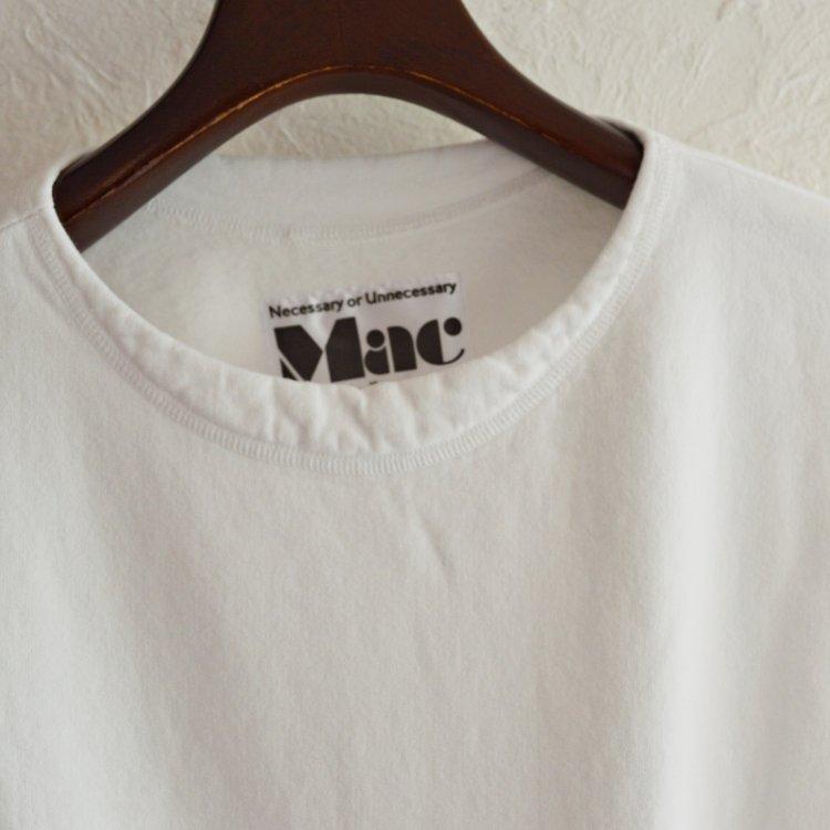 necessary or unnecessary ネセサリーオアアンネセサリー / MAC マック (WHITE ホワイト) N.O.UN(ナウン)