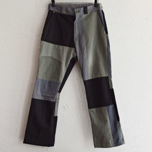 Nasngwam. ナスングワム / VARIOUS PANTS バリオスパンツ (BLACK ブラック)<img class='new_mark_img2' src='https://img.shop-pro.jp/img/new/icons1.gif' style='border:none;display:inline;margin:0px;padding:0px;width:auto;' />