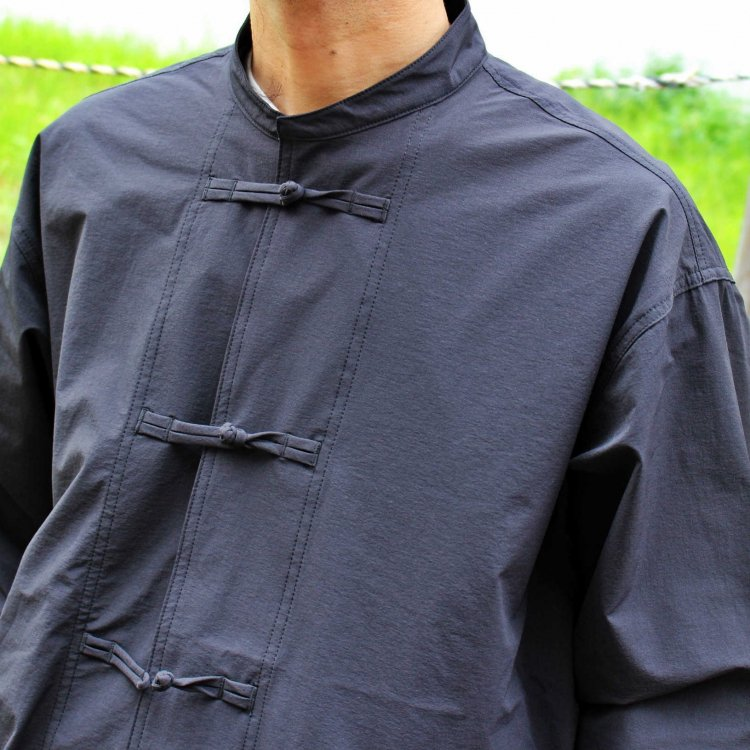 AXESQUIN アクシーズクイーン / TECH KUNG-FU JACKET テックカンフージャケット (BLACK ブラック)<img class='new_mark_img2' src='https://img.shop-pro.jp/img/new/icons1.gif' style='border:none;display:inline;margin:0px;padding:0px;width:auto;' />