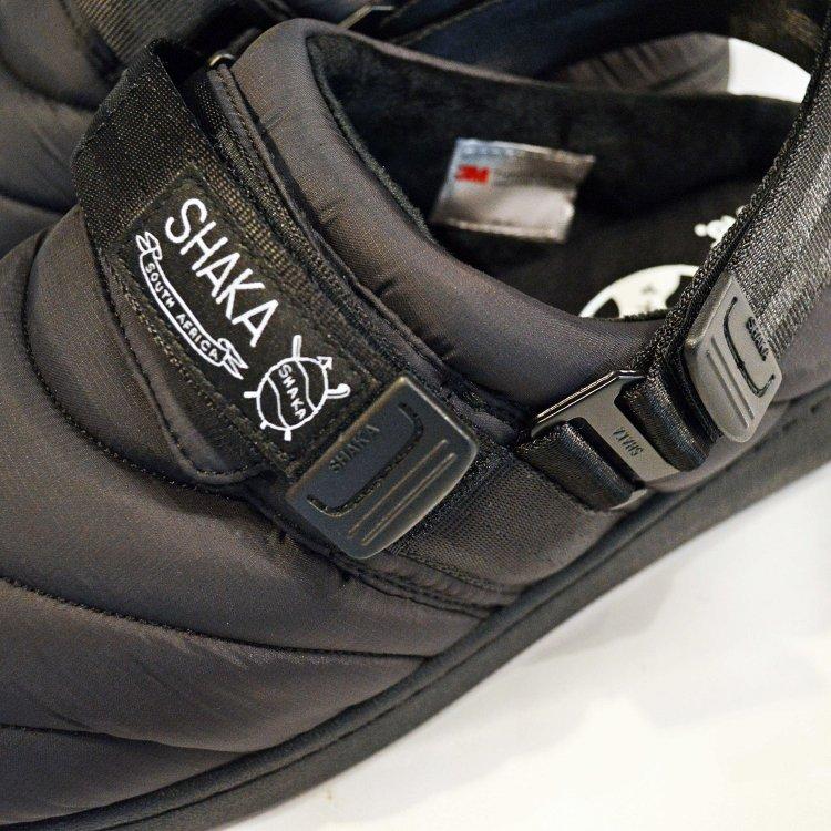 SHAKA シャカ / SUNG CLOG クロッグサンダル (BLACK ブラック)