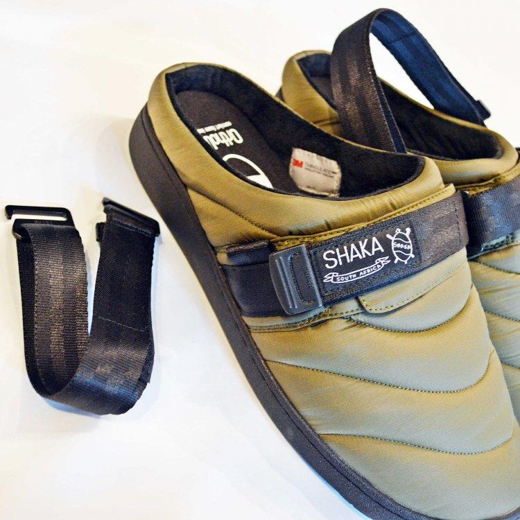 SHAKA シャカ / SUNG CLOG クロッグサンダル (OLIVE オリーブ)