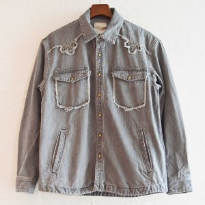 Nasngwam. ナスングワム / WESTERN JACKET ウエスタンジャケット (BLACK ブラック) <img class='new_mark_img2' src='https://img.shop-pro.jp/img/new/icons1.gif' style='border:none;display:inline;margin:0px;padding:0px;width:auto;' />