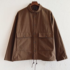 AXESQUIN アクシーズクイーン / NYLON FIELD JACKET ナイロンフィールドジャケット (BROWN ブラウン)<img class='new_mark_img2' src='https://img.shop-pro.jp/img/new/icons1.gif' style='border:none;display:inline;margin:0px;padding:0px;width:auto;' />