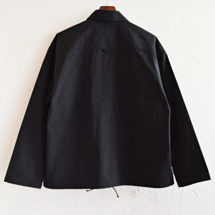 AXESQUIN アクシーズクイーン / NYLON FIELD JACKET ナイロンフィールドジャケット (BLACK ブラック)