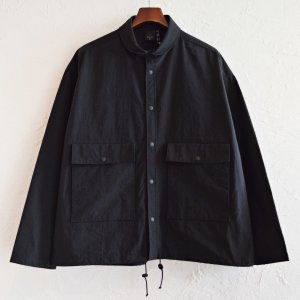 AXESQUIN アクシーズクイーン / NYLON FIELD JACKET ナイロンフィールドジャケット (BLACK ブラック)<img class='new_mark_img2' src='https://img.shop-pro.jp/img/new/icons1.gif' style='border:none;display:inline;margin:0px;padding:0px;width:auto;' />