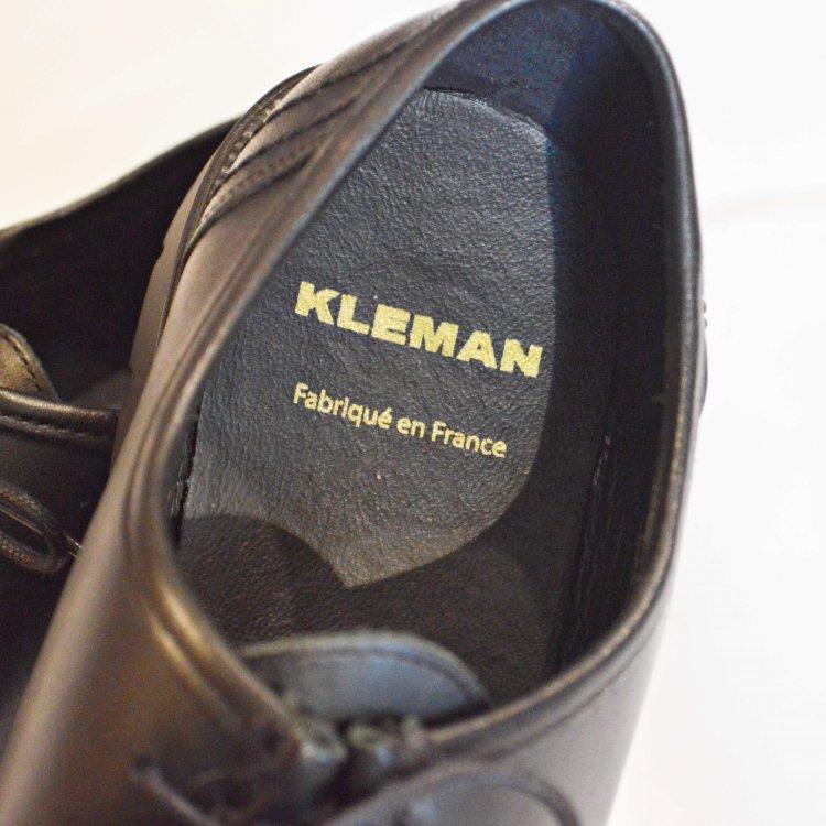 KLEMAN クレマン / PADRE パドレ チロリアンシューズ  (BLACK ブラック)