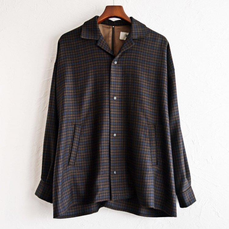 BASISBROEK バージスブルック / JAGGER シャツジャケット (CHECK チェック)