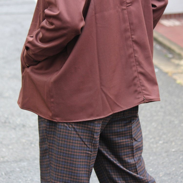 BASISBROEK バージスブルック / JAGGER シャツジャケット (BROWN ブラウン)<img class='new_mark_img2' src='https://img.shop-pro.jp/img/new/icons1.gif' style='border:none;display:inline;margin:0px;padding:0px;width:auto;' />