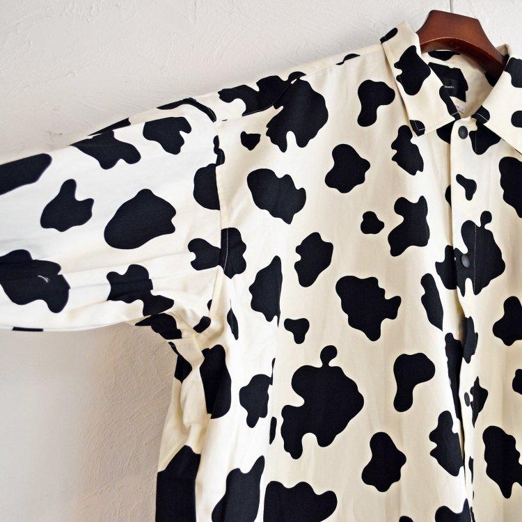 bend(s) ベンズ / COTTON TWILL BIG COACH SHIRT JACKET ビックコーチシャツジャケット(COW カウ)
