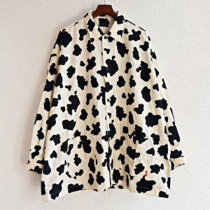 bend(s) ベンズ / COTTON TWILL BIG COACH SHIRT JACKET ビックコーチシャツジャケット(COW カウ)<img class='new_mark_img2' src='https://img.shop-pro.jp/img/new/icons1.gif' style='border:none;display:inline;margin:0px;padding:0px;width:auto;' />