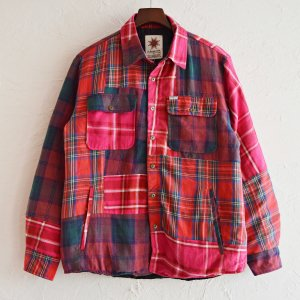 Nasngwam. ナスングワム / WINTER SKELTER JACKET ウインタースキレタージャケット【CHECK】 (RED レッド) <img class='new_mark_img2' src='https://img.shop-pro.jp/img/new/icons1.gif' style='border:none;display:inline;margin:0px;padding:0px;width:auto;' />