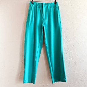 BASISBROEK バージスブルック / TENT カラーパンツ (TURQUOISE ターコイズ)<img class='new_mark_img2' src='https://img.shop-pro.jp/img/new/icons1.gif' style='border:none;display:inline;margin:0px;padding:0px;width:auto;' />