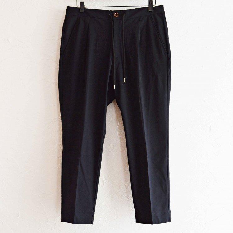 melple メイプル / Tomcat One Tuck Relax Pants トムキャットワンタックリラックスパンツ (BLACK ブラック)
