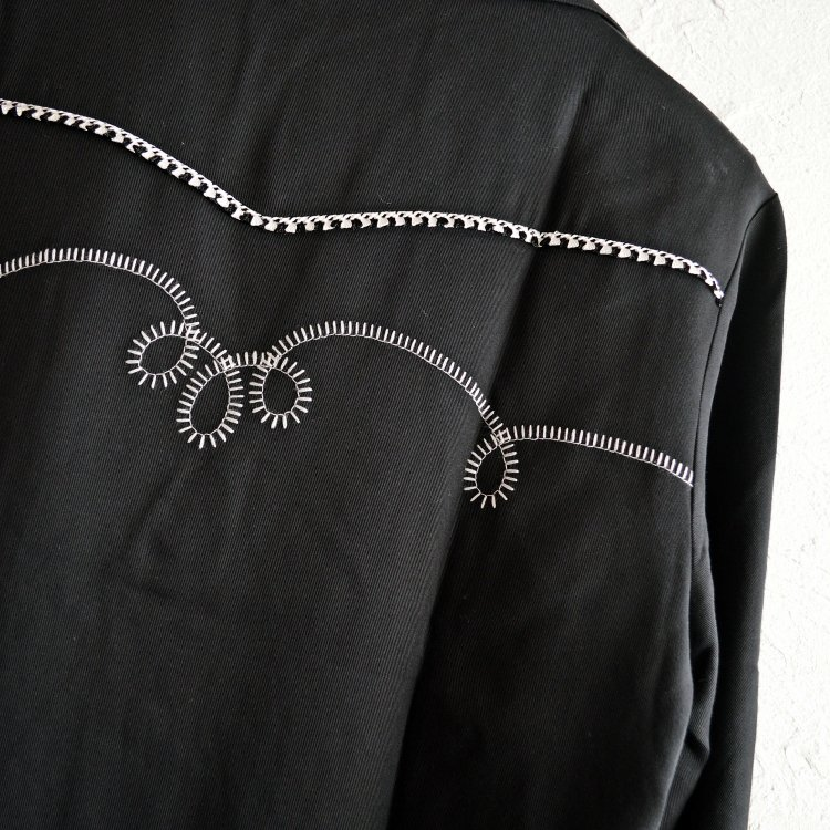 HBarC エイチバーシー / Bolero Jacket ボレロジャケット (BLACK ブラック)