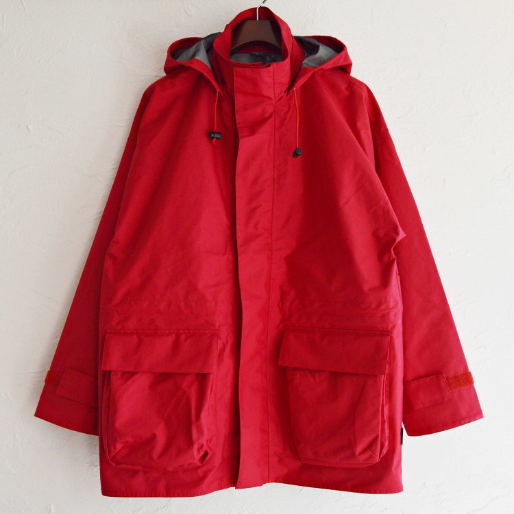 AXESQUIN アクシーズクイーン / FOUL WEATHER JACKET ファウルウェザージャケット (RED レッド)