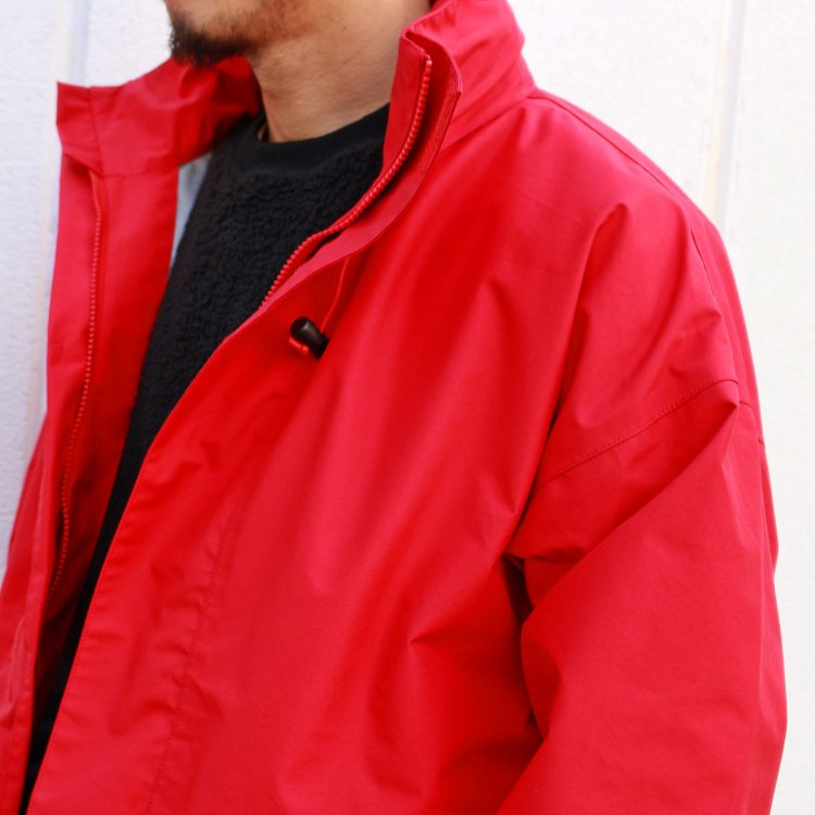 AXESQUIN アクシーズクイーン / FOUL WEATHER JACKET ファウルウェザージャケット (RED レッド)<img class='new_mark_img2' src='https://img.shop-pro.jp/img/new/icons1.gif' style='border:none;display:inline;margin:0px;padding:0px;width:auto;' />