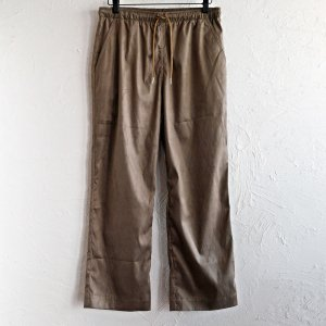 melple メイプル / MICRO SUEDE EASY PANTS マイクロスエードイージーパンツ (TAUPE トープ) <img class='new_mark_img2' src='https://img.shop-pro.jp/img/new/icons1.gif' style='border:none;display:inline;margin:0px;padding:0px;width:auto;' />