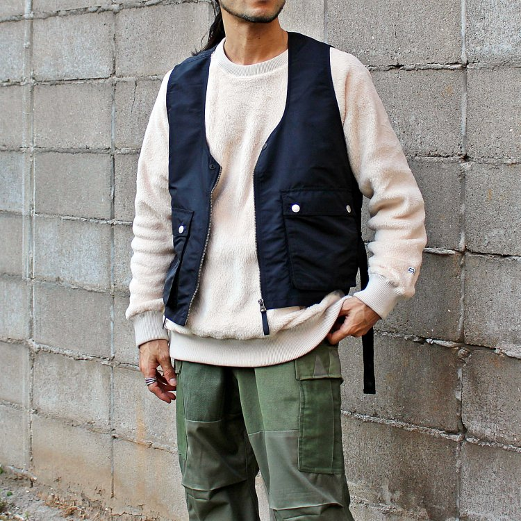 MOUNTAIN EQUIPMENT マウンテンイクイップメント / HIGH LOFT SWEATER ハイロフトセーター (OFF WHITE オフホワイト)<img class='new_mark_img2' src='https://img.shop-pro.jp/img/new/icons1.gif' style='border:none;display:inline;margin:0px;padding:0px;width:auto;' />