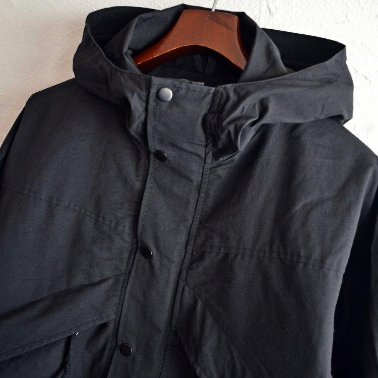 Nasngwam. ナスングワム / EIGER JACKET マウンテンパーカー (BLACK ブラック)