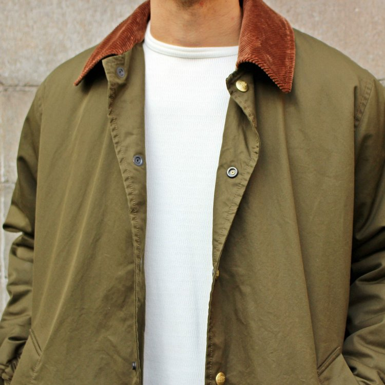 necessary or unnecessary ネセサリーオアアンネセサリー / COACH COAT LIGHT コーチコートライト (OLIVE オリーブ)<img class='new_mark_img2' src='https://img.shop-pro.jp/img/new/icons1.gif' style='border:none;display:inline;margin:0px;padding:0px;width:auto;' />
