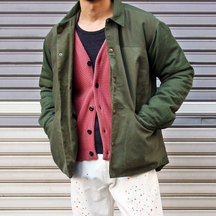 Nasngwam. ナスングワム / BARBARIAN JACKET バーバリアンジャケット (OLIVE オリーブ)<img class='new_mark_img2' src='https://img.shop-pro.jp/img/new/icons1.gif' style='border:none;display:inline;margin:0px;padding:0px;width:auto;' />