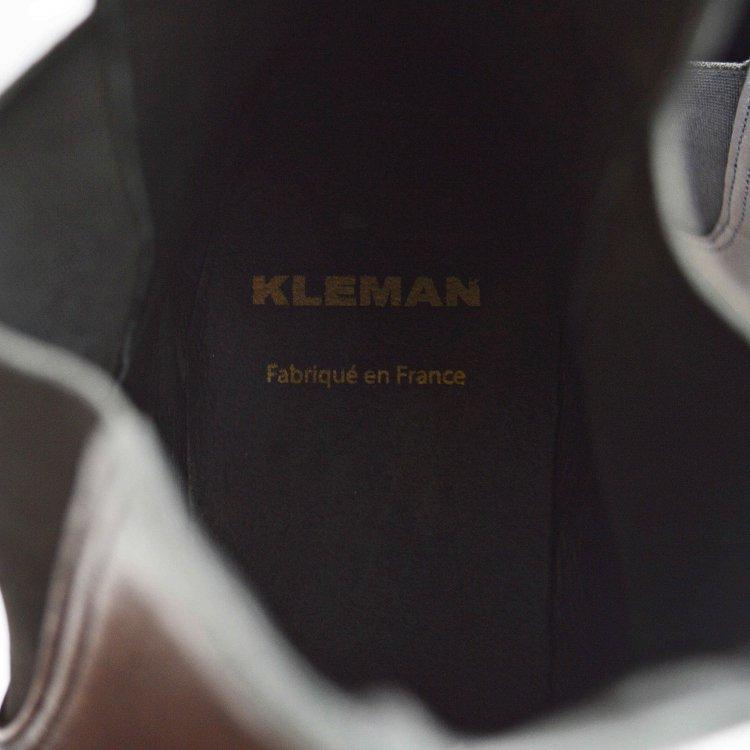 KLEMAN クレマン / TONNAMT サイドゴアブーツ (BLACK ブラック)