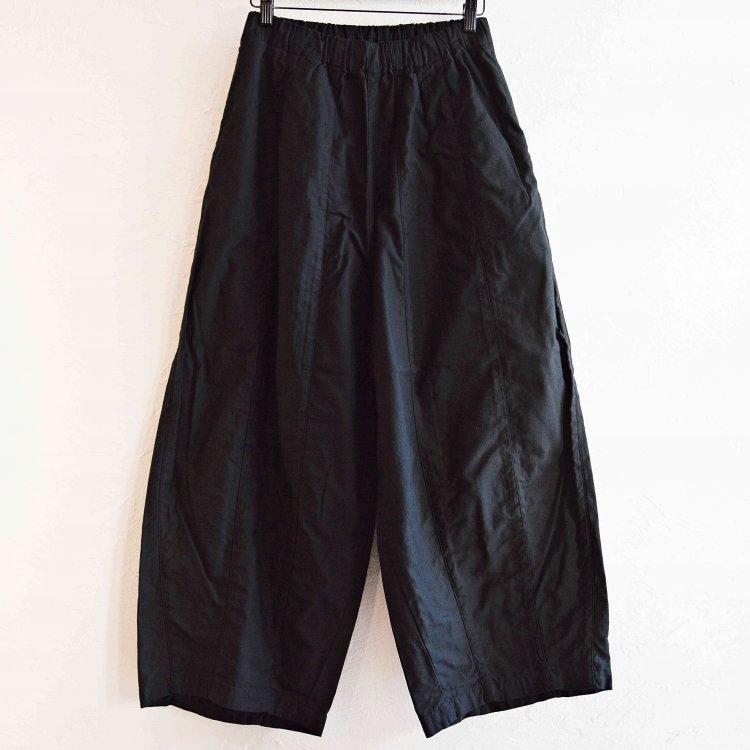 SETTO セト / PALACHUTE PANTS パラシュートパンツ (BLACK ブラック)