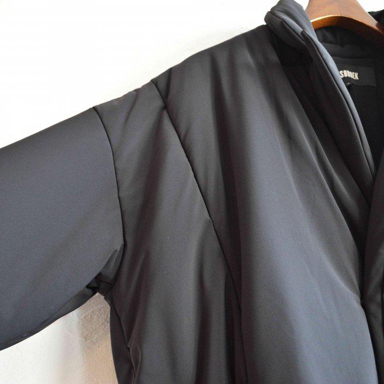 BASISBROEK バージスブルック / BOIL ボイル 中綿コート (BLACK ブラック)