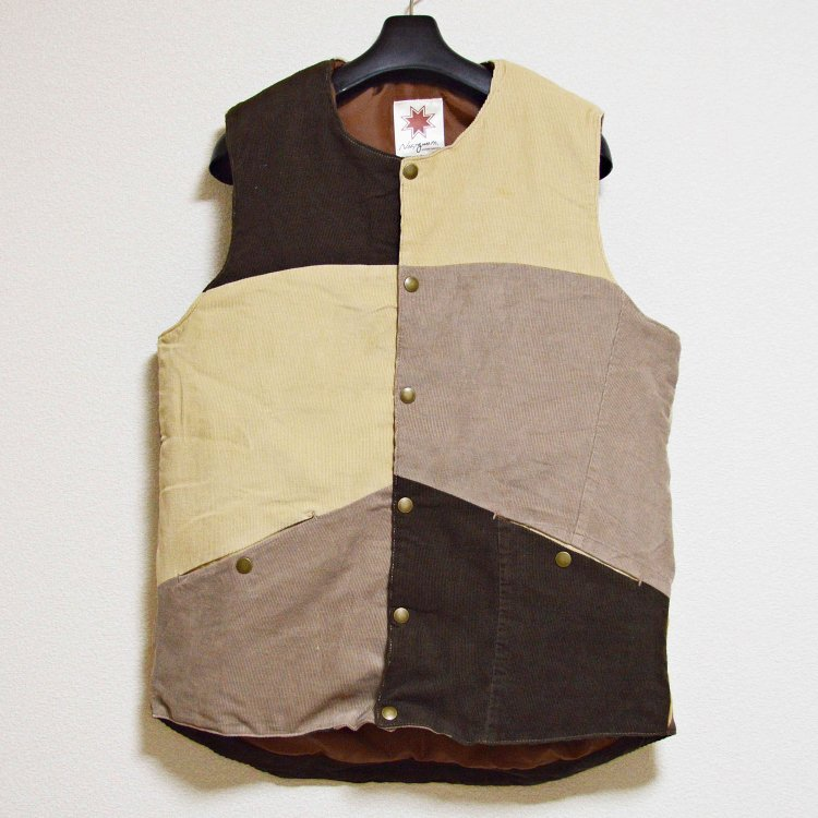 Nasngwam. ナスングワム / LONESTAR VEST ローンスターベスト (CORDUROY コーデュロイ Ssize)<img class='new_mark_img2' src='https://img.shop-pro.jp/img/new/icons1.gif' style='border:none;display:inline;margin:0px;padding:0px;width:auto;' />