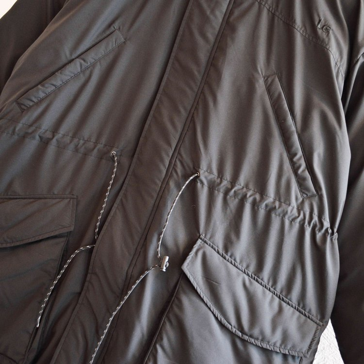 LAST CHANCE ラストチャンス / INSULATED FIELD COAT (BLACK ブラック)<img class='new_mark_img2' src='https://img.shop-pro.jp/img/new/icons1.gif' style='border:none;display:inline;margin:0px;padding:0px;width:auto;' />