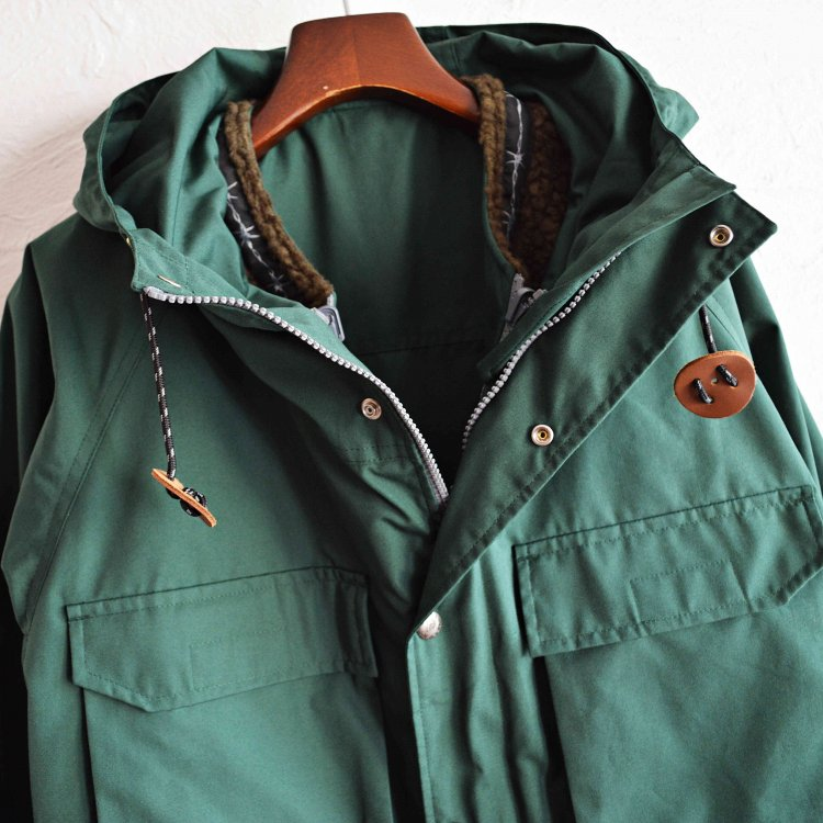 SIERRA DESINGNS×LAST CHANCE シエラデザイン ラストチャンス / 4WAY MOUNTAIN FATIGUE PARKA  (GREEN グリーン)<img class='new_mark_img2' src='https://img.shop-pro.jp/img/new/icons1.gif' style='border:none;display:inline;margin:0px;padding:0px;width:auto;' />