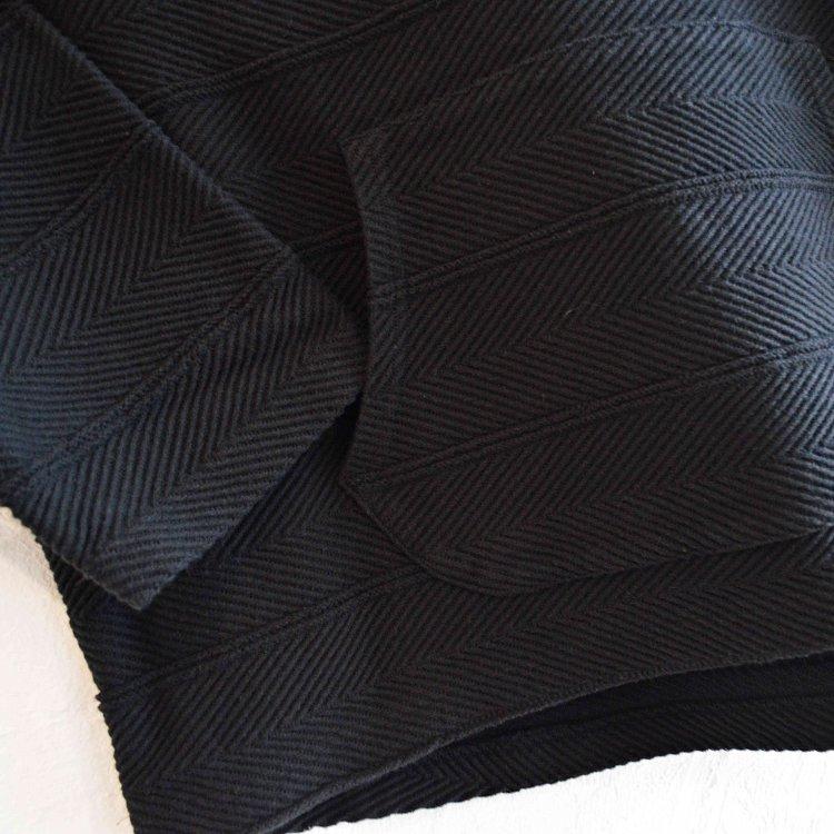 Nasngwam. ナスングワム / OAXACA PARKA オアハカパーカー (BLACK ブラック)