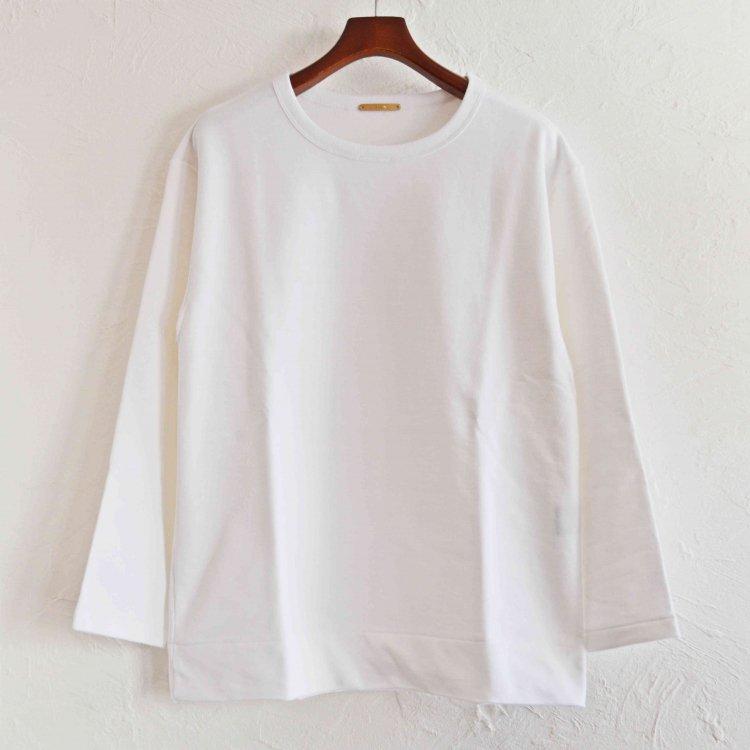 LAMOND ラモンド / SHARI URAKE PULLOVER シャリウラケプルオーバー (WHITE ホワイト)