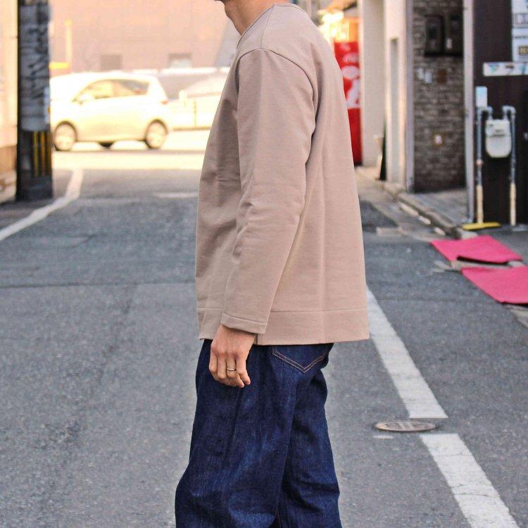 LAMOND ラモンド / SHARI URAKE PULLOVER シャリウラケプルオーバー (SAND BEIGE サンドベージュ)
