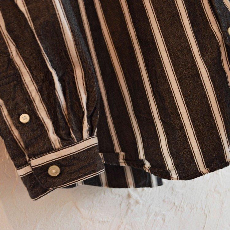 SPINNERBAIT スピナーベイト / ダブルワッシャーストライプオグリシャツ (INDIGO インディゴ)